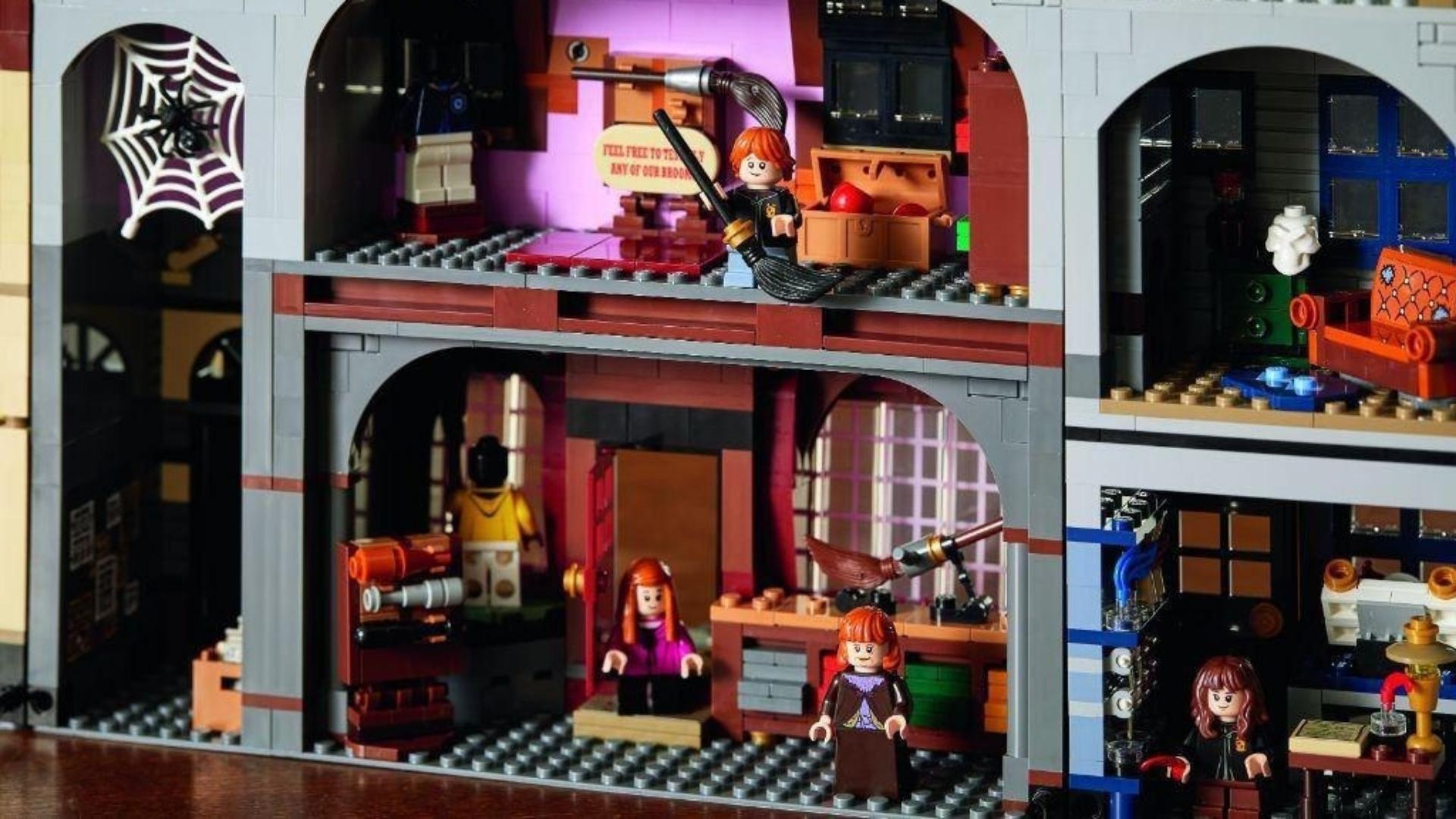 Новый набор Lego с Гарри Поттером